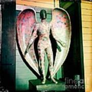 Angel In The City Of Angels Art Print