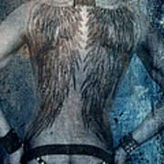 Angel Nude  Art Print