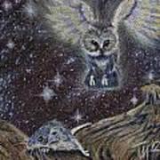 Angel Of Death Art Print by Thomas Maynard