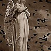 Angel Of Stone S Art Print