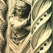 Angel Of The Basilica Art Print