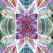 Angel Of The Crystal World Art Print