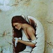 Angel Art Print by Steven Wood