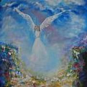 Angel Whisperings Art Print
