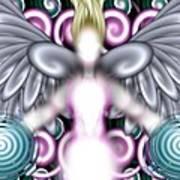 Angelic Flares Art Print