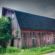 Angelica Barn In Hdr Art Print