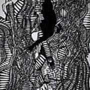 Angels Kiss Art Print