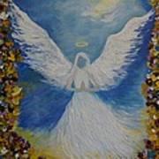 Angels Prayer Art Print