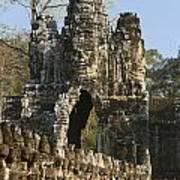 Angkor Archaeological Park II Art Print