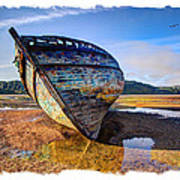 Anglesey Shipwreck Art Print