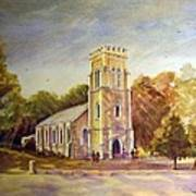 Anglican Church Beechworth  Victoria Art Print