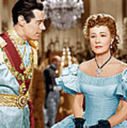 Anna And The King Of Siam, From Left Art Print