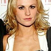 Anna Paquin At Arrivals For Hbos True Art Print