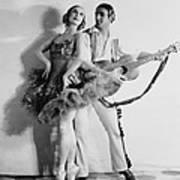 Anna Pavlova 1885-1931 Dancing Partner Art Print
