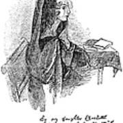 Anne Bront� (1820-1849) Art Print by Granger