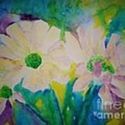 Anne's Flowers Art Print
