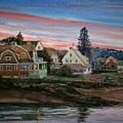 Annisquam River Art Print by Peter Sit