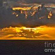 Another Caribbean Sunset Art Print