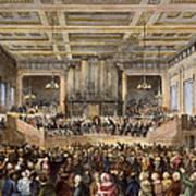 Anti-slavery Convention Art Print by Granger