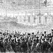Anti-slavery Meeting, 1863 Art Print by Granger
