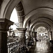 Antigua Arches Art Print