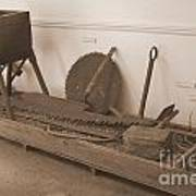 Antiquated Plantation Tools - 1 Art Print