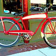 Antique Bicycle Art Print