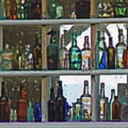 Antique Bottle Collection  Art Print