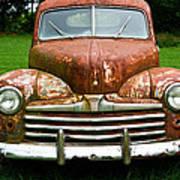 Antique Ford Car 8 Art Print
