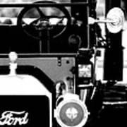 Antique Ford Art Print