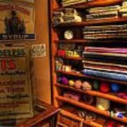Antique General Store Linen - General Store - Vintage - Nostalgia Art Print by Lee Dos Santos
