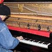 Antique Playtone Piano Art Print