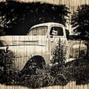 Antique Truck Art Print