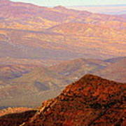Anza-borrego Desert Foothills Art Print