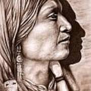 Apache Chief Art Print
