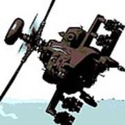Apache Preparing To Attack Art Print