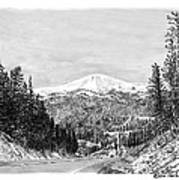 Apache Summit Siera Blanco Art Print by Jack Pumphrey