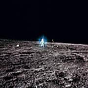 Apollo 12 Astronaut Art Print