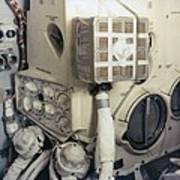 Apollo 13 Lunar Module And The Mailbox Print by Everett