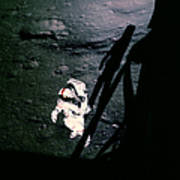 Apollo 14 Astronaut Al Shepard Art Print
