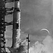 Apollo 8: Launch, 1968 Art Print