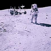 Apollo Mission 16 Art Print