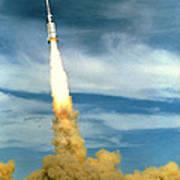 Apollo Mission Test Art Print