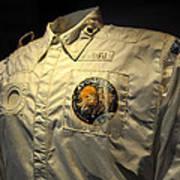 Apollo Space Suit Art Print