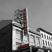 Apollo Theater In Harlem New York No.2 Art Print