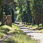 Appian Way In Rome Art Print