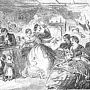 Apple Bee, 1859 Art Print