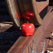 Apple Juice Railroad 4 Art Print