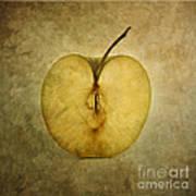 Apple Textured Art Print