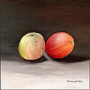Apples Still Life Art Print by Carola Ann-Margret Forsberg